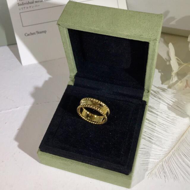 Top qualité 100% en argent Sterling 925 perlé Signature bande anneaux femmes élégant marque chaude bijoux de haute qualité argent anneaux cadeaux - 2