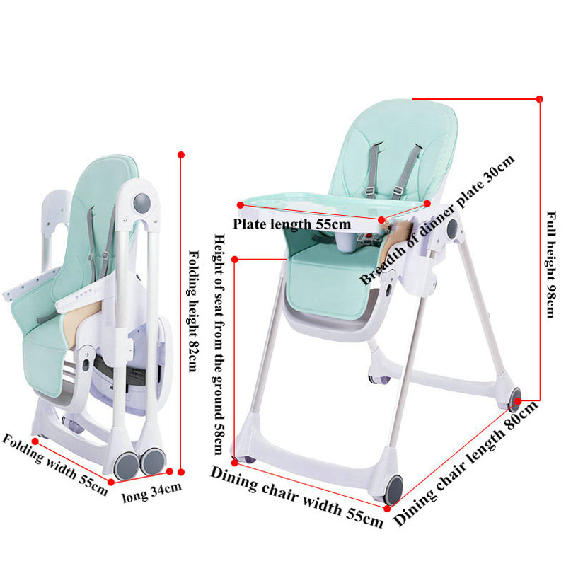 Baby High Chair Children Feeding For Boys And Girls For baby Table Newborn Multifunctional Dining Chair
