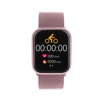 ECG E06 Smart Watch Women Full Touch Smartwatch Men Heart Rate Monitor Call Message Reminder Clock PK P68 P70 P80 F10 F8