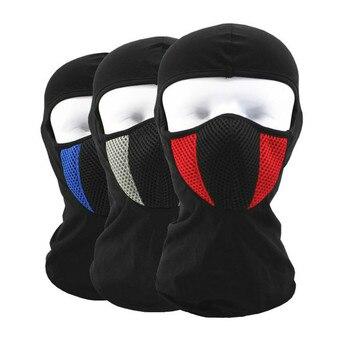 2019 Moto masque facial Moto visage bouclier tactique Airsoft Paintball cyclisme vélo Ski armée Moto casque masque complet