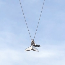 1 Pc Creative Fishtail Necklace Simple and Versatile Clavicle Chain Women Elegant Pendant Gift