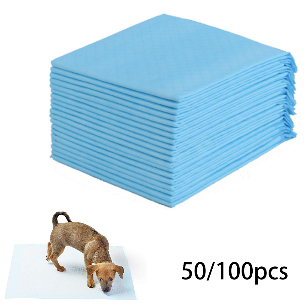 2 Size Pet Dog Diapers Super Absorbent Cat Dog Training Urine Pee Pads Healthy Clean Wet Mat Disposable Dog Diaper Training Pad