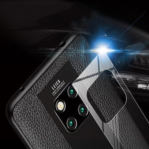Image 5 - אופנה מקרה עבור Huawei Mate 20 RS פורשה עיצוב זכוכית מראה מקרה הגנת כיסוי מעטפת עבור Huawei Mate RS פורשה עיצוב