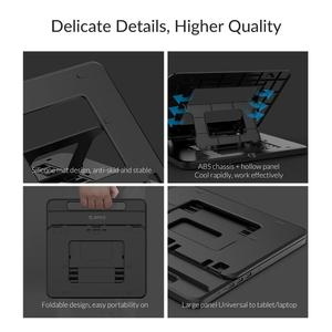 Image 4 - ORICO Tablet Laptop Holder Stand Height Adjustable 3 Ports USB3.0 Docking Station with Holder PD Charging For  PC Notebook