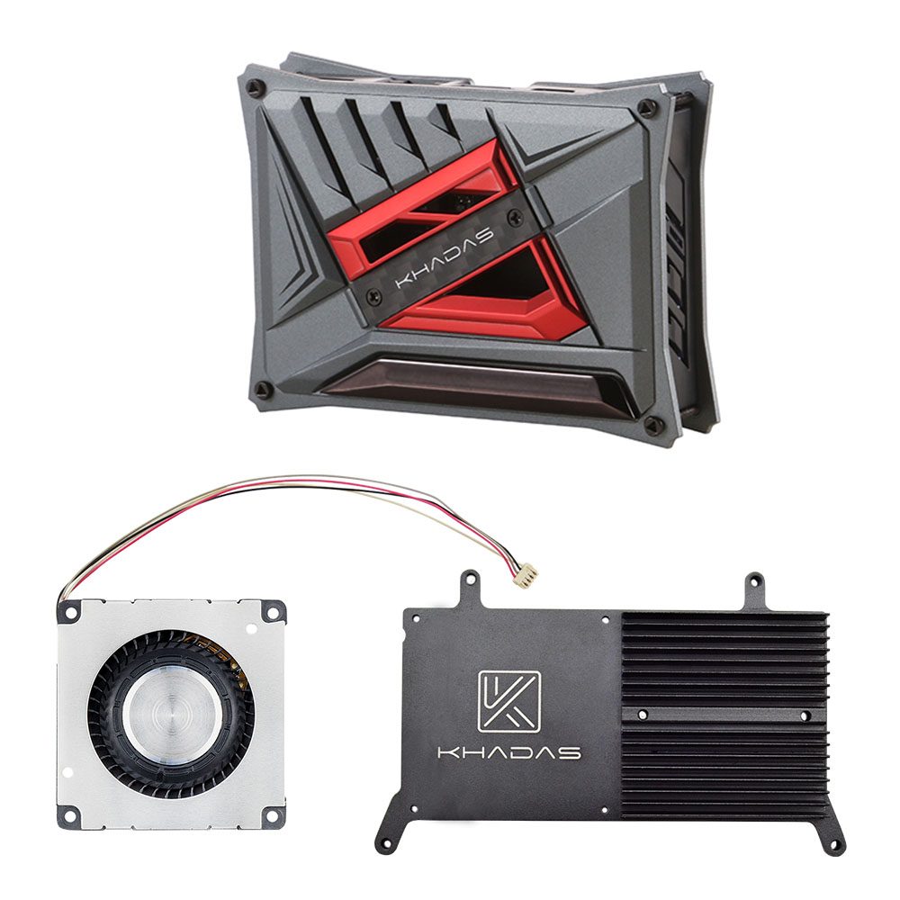 Khadas VIM DIY Case Kit With Khadas Vim Series Cooling Fan With Heatsink