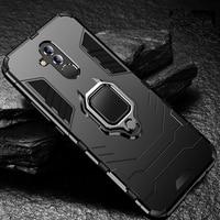 Funda con anillo de Metal Mate 20 Lite para móvil, carcasa resistente a caídas para Huawei Mate 20 Lite, SNE-LX1, SNE-L21, SNE-LX3, SNE-LX2L23