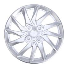 14 Inch Car Wheel Caps Case Hubcap for Car Hub Cap Auto Refit Accessories (Silver)
