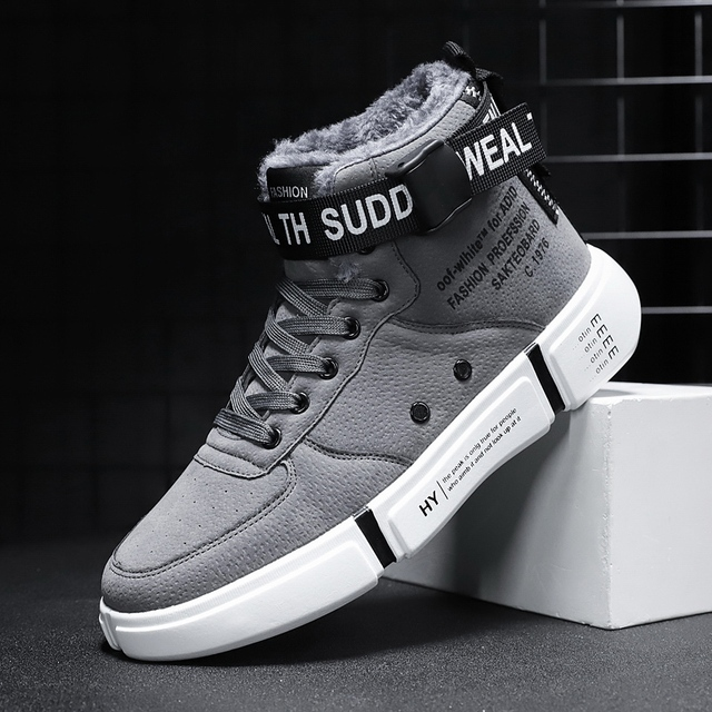 Mens Boots High Top Sneakers