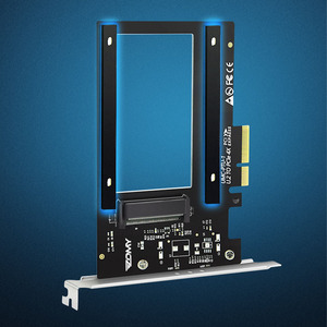 Image 3 - U.2 to PCI E X4 Riser Card PCI Express to U.2 Adapter Board PCI E to SSD Hard Drive Converter Card for 2.5 Inch SATA HDD