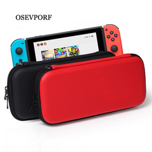 цена на Hard Protective Bag for Nintendo Switch Carrying Case Portable Travel Pouch NS Console Accessories Pockets Gamer Storage Box EVA