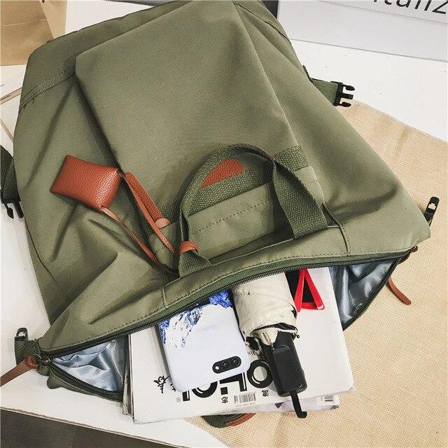 Fashion Women's backpack Students School Backpacks Female Travel Bag School bags for Teenager Girls Rucksack scoolbag Mochilas 6