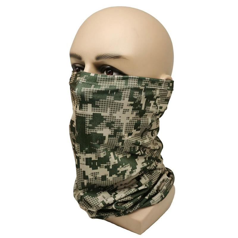 Polyester Bandana Magic Neckerchief Microfiber Men's Scarf Snood For Women Versatility Caps Cycling Elastic Snood Scrunchie