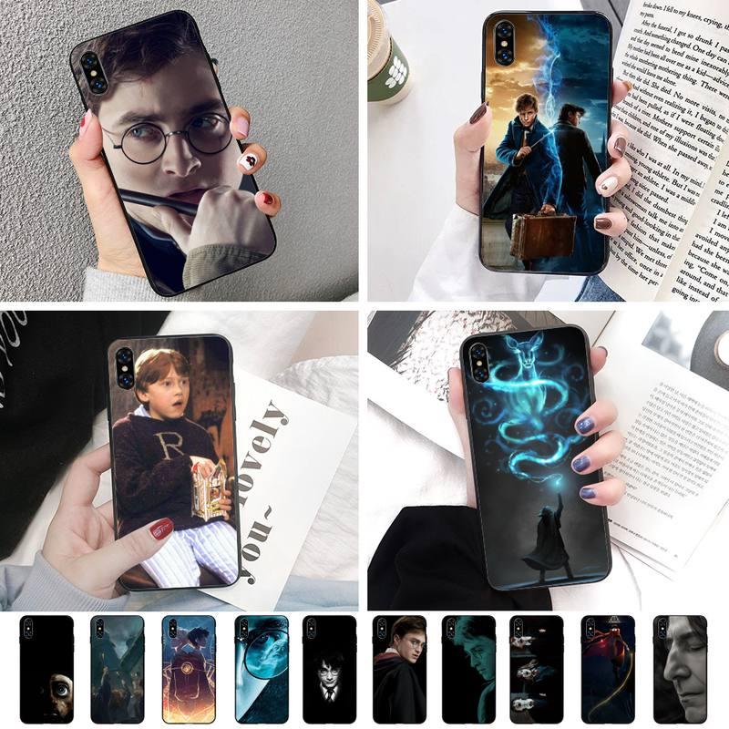 Harries Potter Soft Phone Case Capa For IphoneX XS 11 11Pro 5 5s SE 6 6s plus 7 8 SE 2020 Case