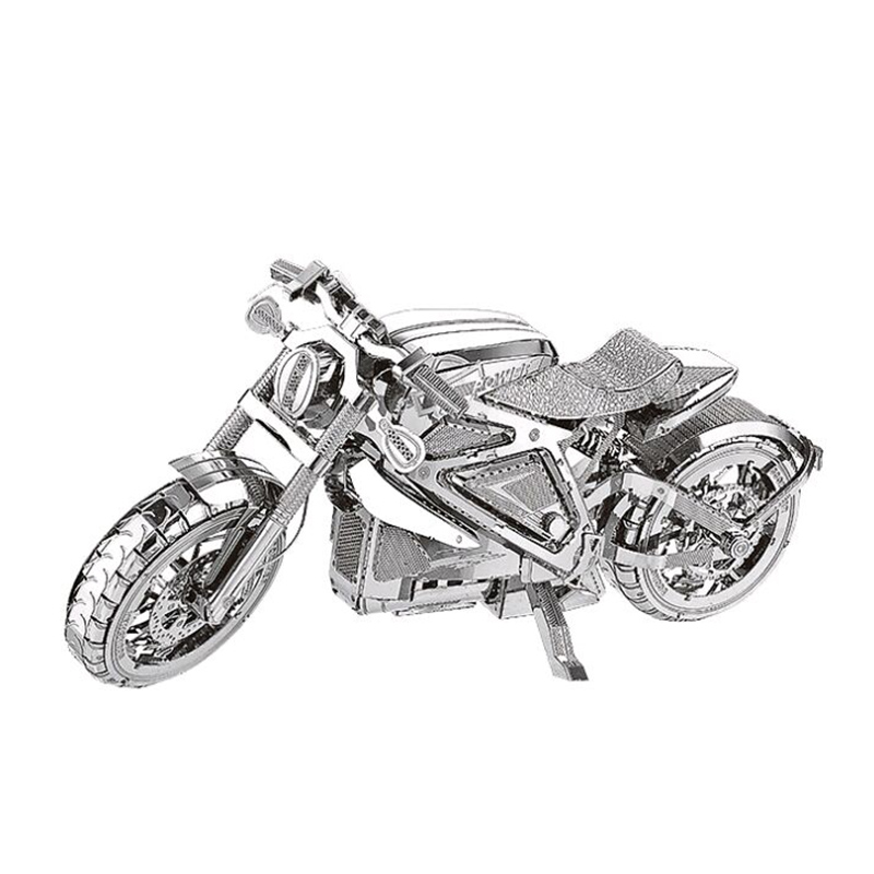 PUzzle 3D Metal Model Jigsaw Motorcycle DIY Toy Manual Assembly Kit Stainless Steel Adult Super Difficult Jigsaw Collection