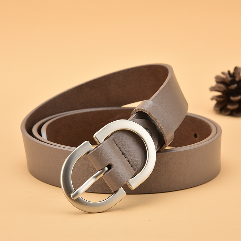 Luxury Belt For Women Pin Buckle Metal Adjustable High Quality Waistband Jeans Girl Fashion Lady Girdle Designer Trend Belts New