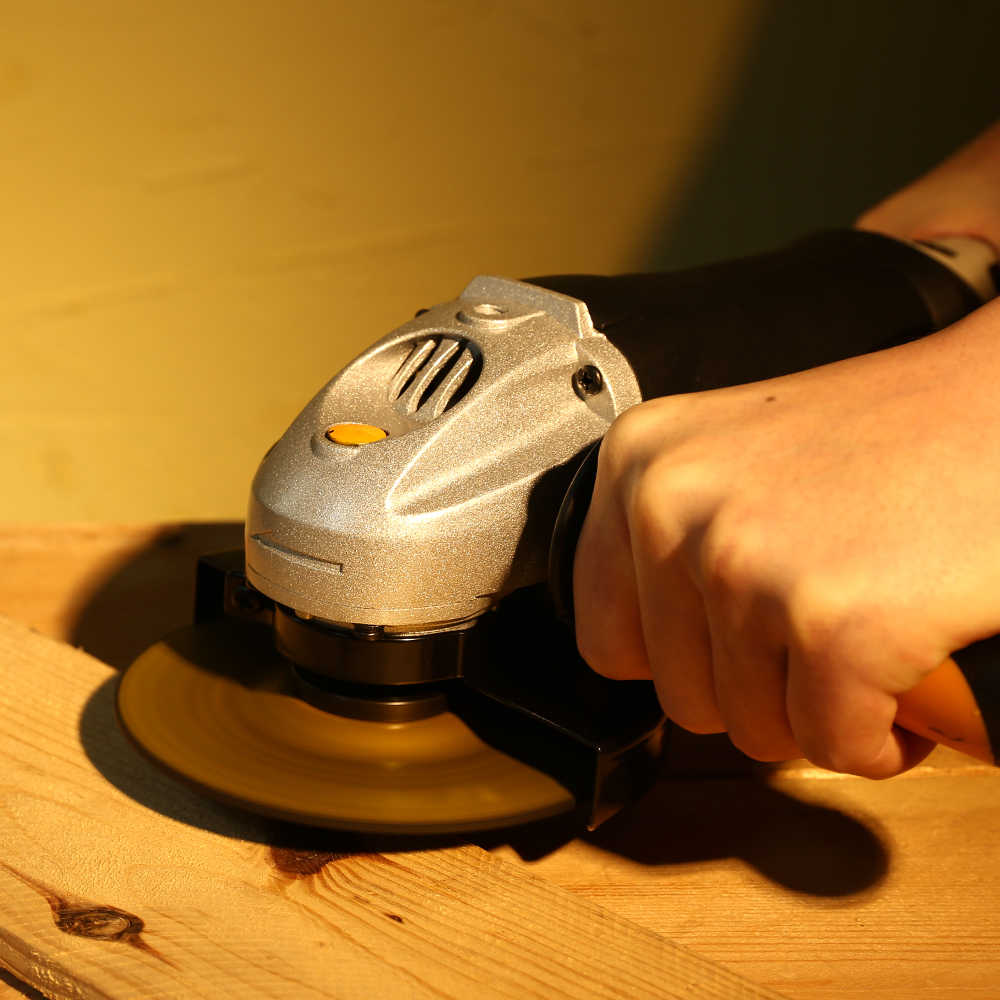 DEKO 220V 125mm amoladora de ángulo eléctrica máquina amoladora Angular herramienta de molienda de corte de madera de Metal