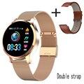 Q9 Smart Uhr Wasserdichte GPS Abstand Track Bluetooth Smartwatch männer Herz Rate monitor Fitness Tracker Q8 Armband Android IOS-in Smart Watches aus Verbraucherelektronik bei