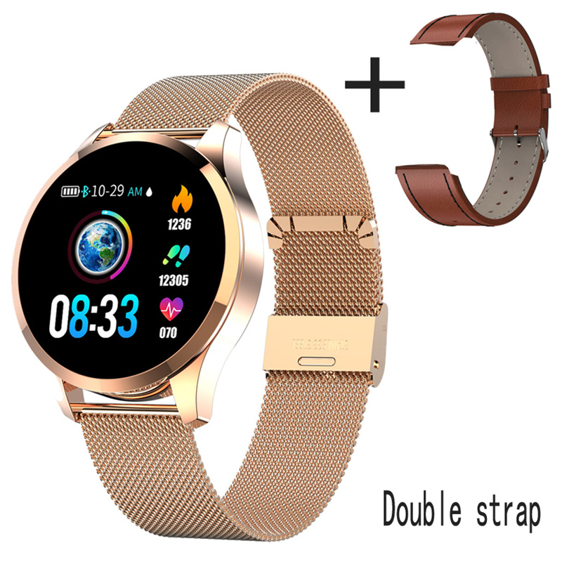 Q9 Smart Watch Waterproof GPS Distance Track Bluetooth Smartwatch men Heart Rate <font><b>monitor</b></font> Fitness Tracker Q8 Bracelet Android IOS image