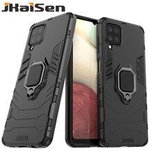 Custodia protettiva per telefono con anello in metallo JKaiSen per Samsung Galaxy A02 A02S A12 A32 A42 A52 A72 custodia protettiva antiurto