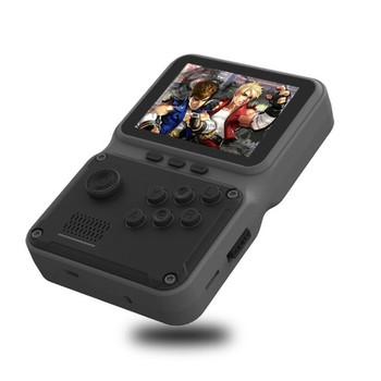 2021 JP09 retro mini portable electronic game console with 2.8-inch screen supporting 5 languages TV output 11