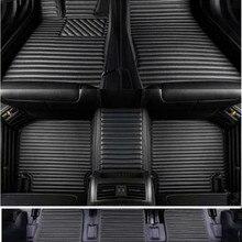 Высококачественные коврики! Высокое качество! специальные автомобильные коврики для Toyota 4runner 7 мест-2010 водонепроницаемый автомобиля ковры для 4runner