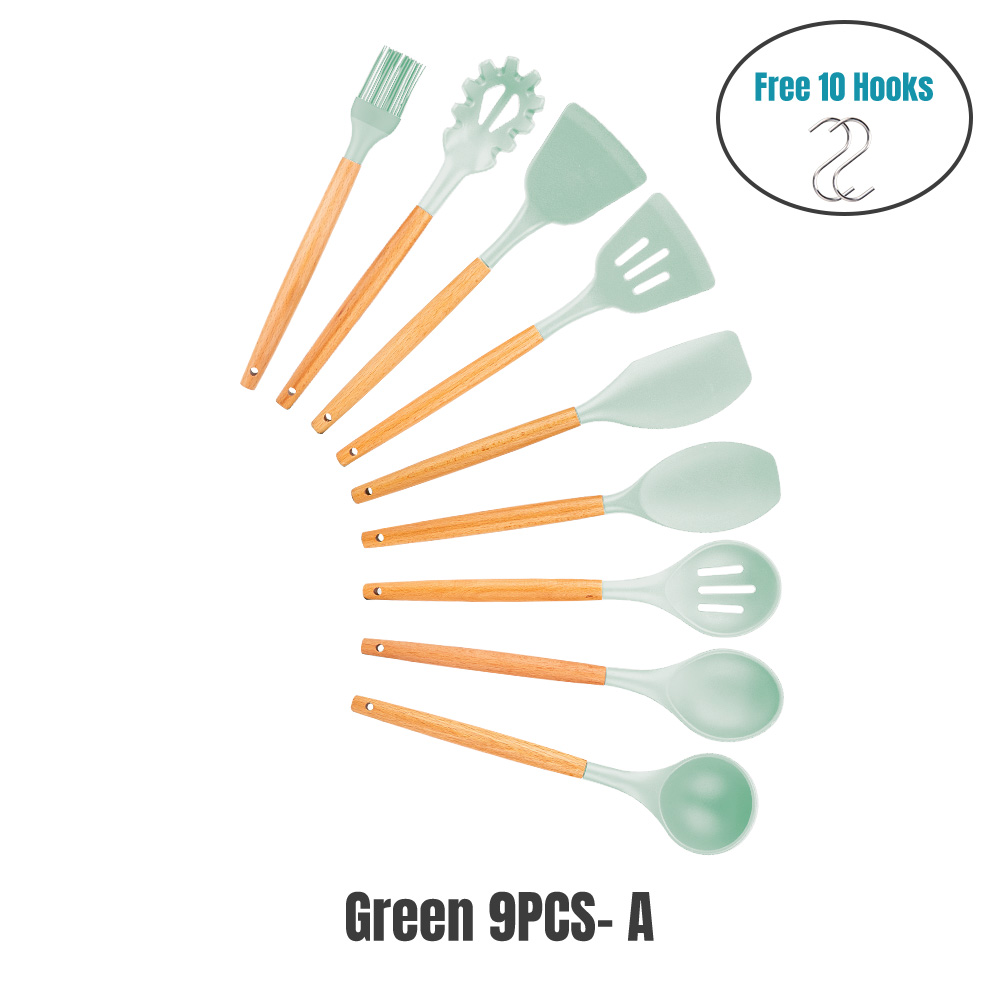 Mint GREEN 9PCS-A