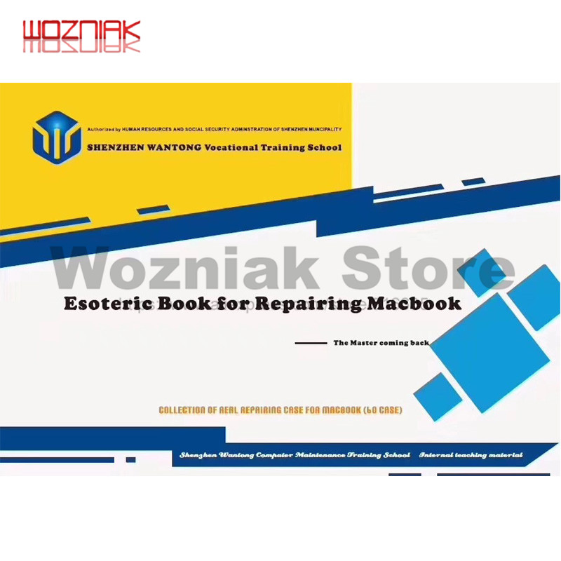 Repair Books For MAC Book Notebook Repair English Book For Macbook Dismantling Motherboard Course Case Books