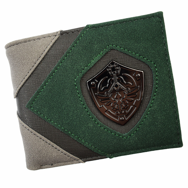 New Arrival Game  Wallet Cute Men's Short Purse High Quality With Coin Pocket for Young and Boy SE 1