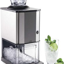 Ice grinder Pro, 12 kg/h, 80 W, 2' 80 L, stainless steel-Lacor 69313