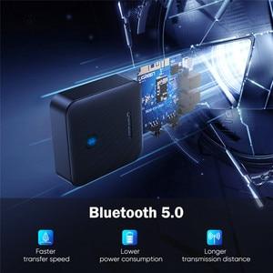 Image 5 - UGREEN Bluetooth 5.0 verici alıcı APTX HD 2 in 1 kablosuz ses adaptörü dijital optik TOSLINK için 3.5mm AUX jakı TV PC