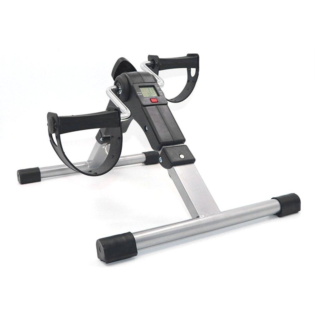 Мини-тренажер для ног велосипеда, тренажер для ног, шаговый тренажер, тренажер для реабилитации, фитнеса, тренировок, Педальный шаговый трен...
