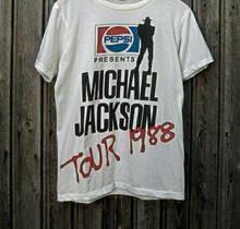 Vtg-t camisa 1988 808080s michael jackson bad tour americano tamanho-super reimpressão o-pescoço estilo camisetas de tamanho grande estilos