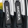 2 stücke Carbon Faser Auto Sicherheit Sitz Gürtel Abdeckung Fall Für Nissan Micra K11 K12 K13 K14 Auto Zubehör Auto  Styling-in Armlehnen aus Kraftfahrzeuge und Motorräder bei