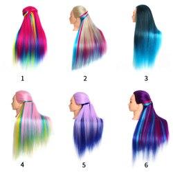 6 tipos opcional profissional modelo de formação de cabelo cosmetologia cabeleireiro prática cabeça manequim bonecas salão de beleza formação modelo