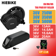 Bafang BBS02 500w 36v 250/350w Motor with Battery 13/14.5/15.6/20ah 8FUN BBS01 BBS02B Ebike Coversion Kit Electric Bike Set