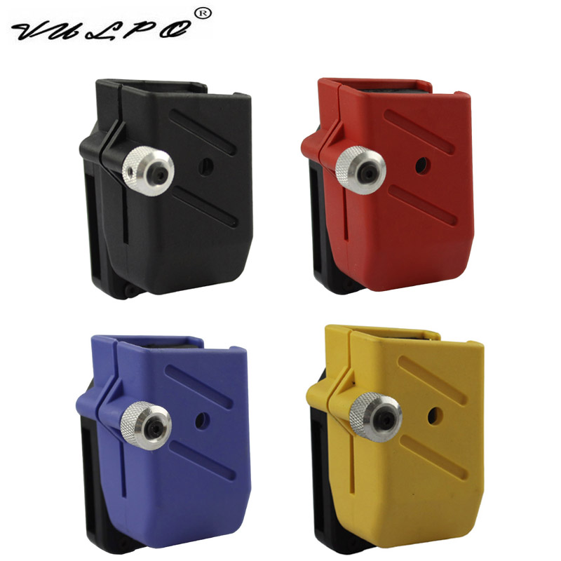 VULPO High Quality Airsoft IPSC CR Quick Draw Holster Magazine Pouch Ipsc CR Left Right Handed Tactical Holster Pouch