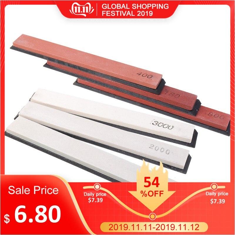 DANIU 6Pcs/set Sharpening Stone Set Whetstone Set Oilstone Grindstone Polishing Sharpener Sander For Kitchen Knives Tool