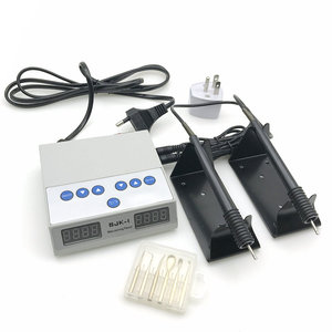 Image 1 - מעבדת שיניים חשמלי דק עובד ניקיון גילוף סכין מכונה כפול עט 6 שעוות טיפ סיר מעבדת שיניים