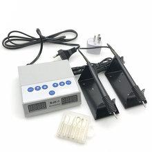 Dental Lab Elettrico Sottile Waxer Intagliare coltello Automatico A Doppia Penna 6 Cera Tip Pot Laboratorio Dentale