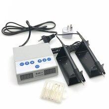 مختبر الأسنان الكهربائية رقيقة Waxer نحت سكين آلة مزدوجة القلم 6 الشمع تلميح وعاء مختبر الأسنان