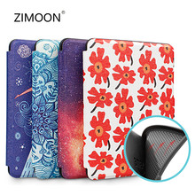 Caso macio para amazon kindle paperwhite 4 flip smart cover para kindle 10th silicone caso de volta para paperwhite 2/3