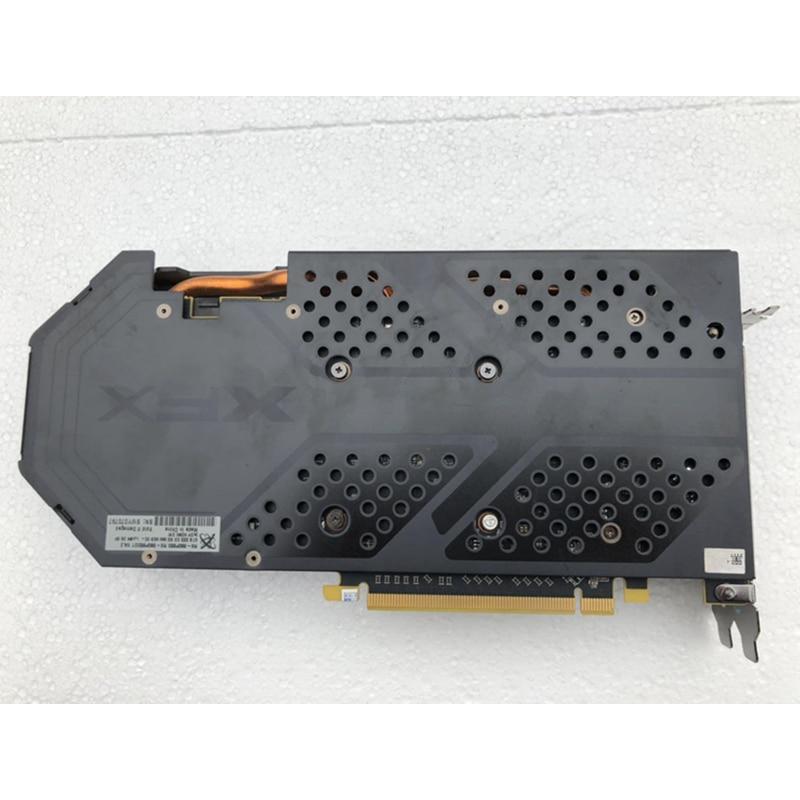 Original XFX RX580 4GB Video Cards AMD Radeon RX 580 4GB Graphics Screen Cards GPU Desktop  Computer PUBG Game Map Videocard 4