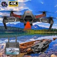 2021 nuovo P5 drone 4K doppia fotocamera fotografia aerea professionale evitamento degli ostacoli a infrarossi quadcopter RC elicottero giocattolo