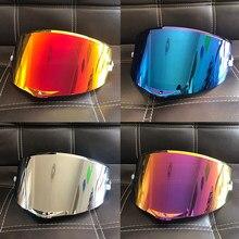 Gafas de protección UV antiexplosión para casco de motocicleta, lentes aptas para AGV Pista GP RR corsa R GPR 70 ° aniversario