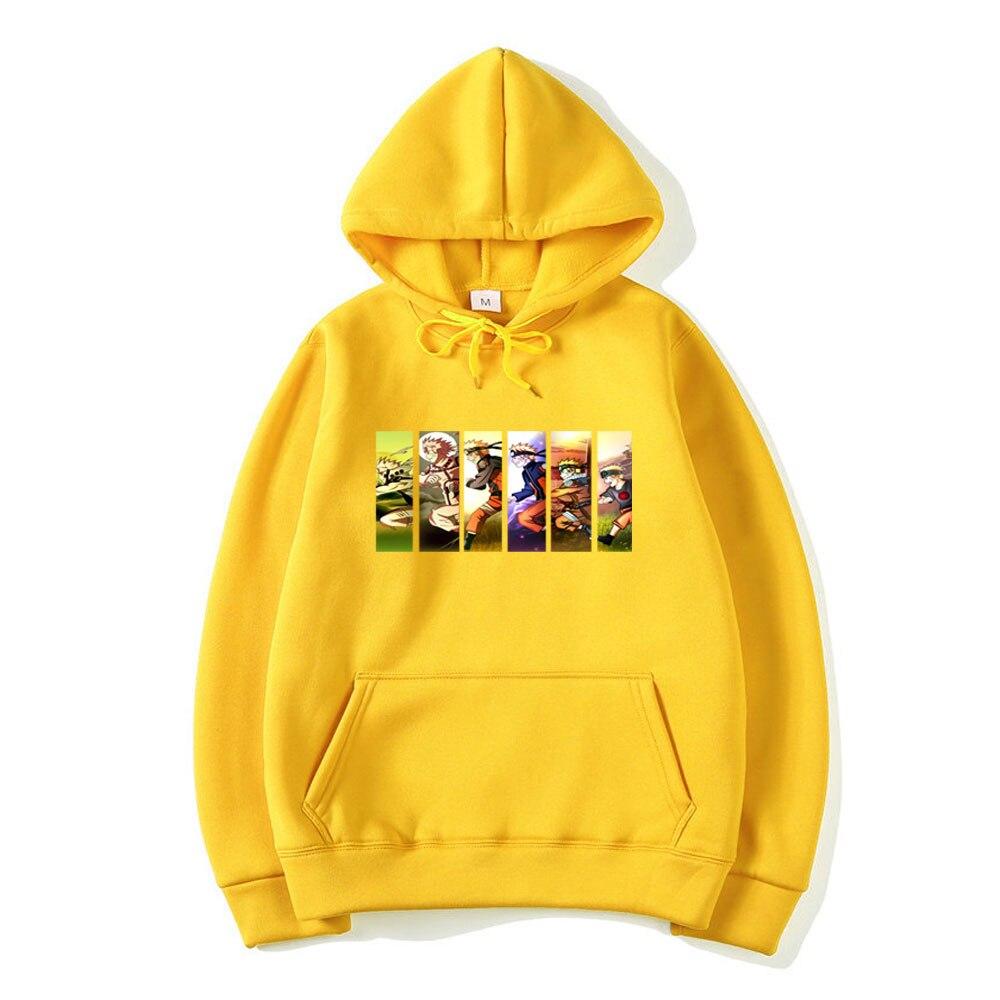 Naruto Hoodie Men Japanese Streetwear Mens Hoodies Hip Hop Hoody Sweatshirt Men Hoodies Sweatshirts 2020 Autumn Cartoon Hoodies