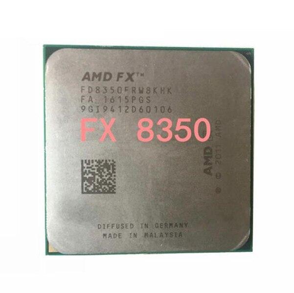 AMD FX 8350 fx 8350 125W AM3+ Eight Core 4.0GHz Desktop CPU FX 8350 can work in stock