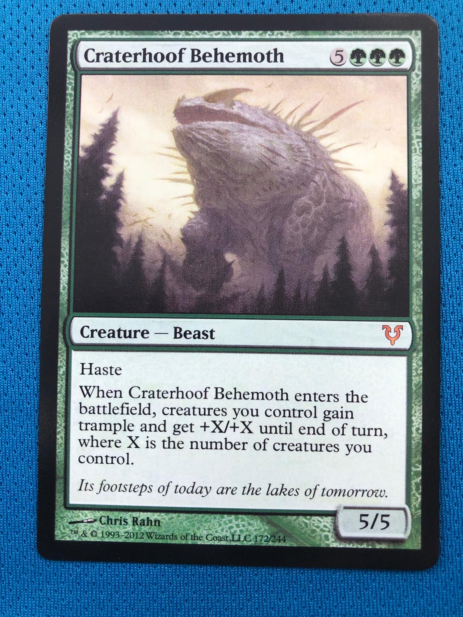 Craterhoof BehemothAvacyn Restored Magician ProxyKing 8.0 VIP The Proxy Cards To Gathering Every Single Mg Card.
