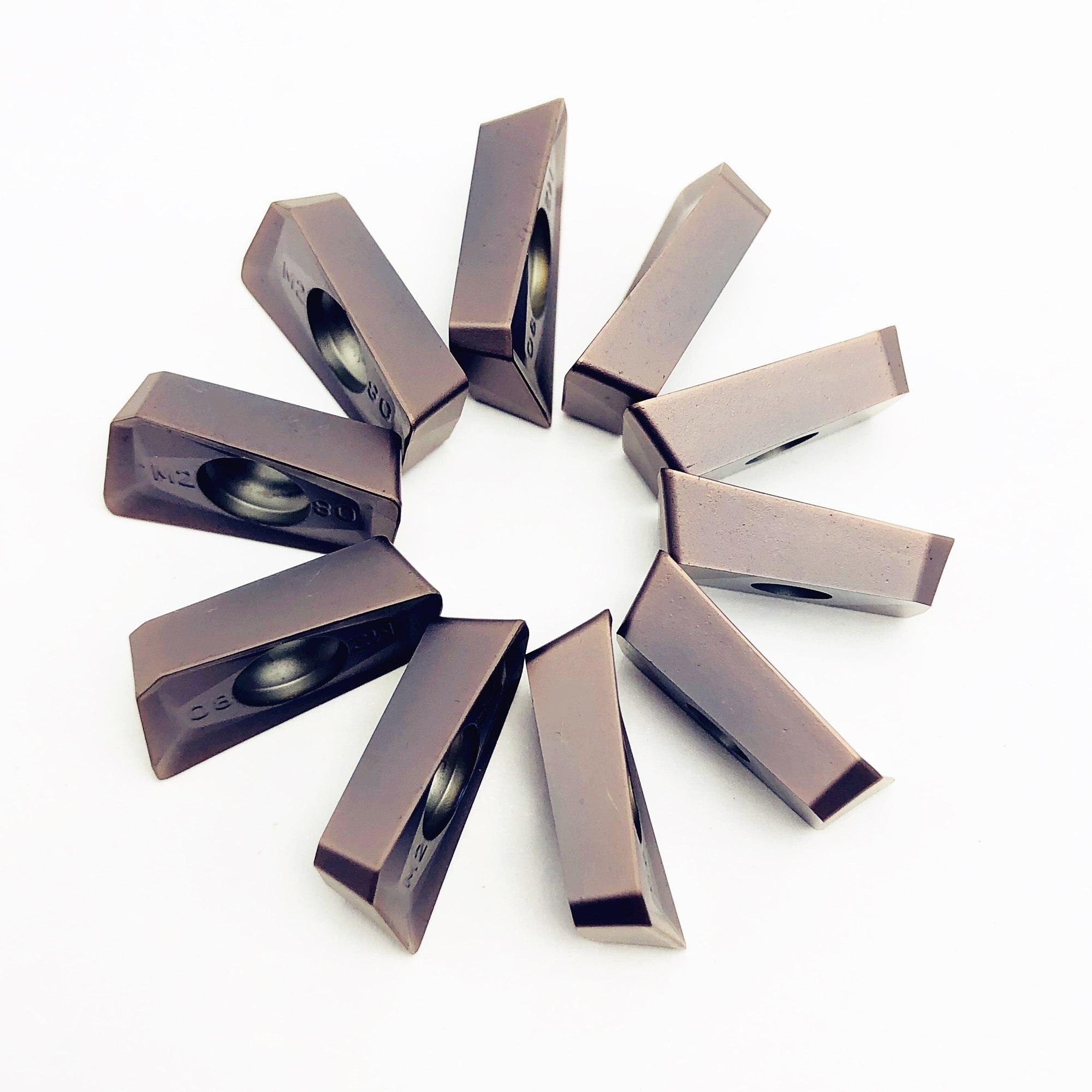 APMT1604 M2 VP15TF Carbide Insert Internal Cutting Tool R0.8 Tungsten Carbide Metal Turning Tools APMT 1604PDER Lathe Tool