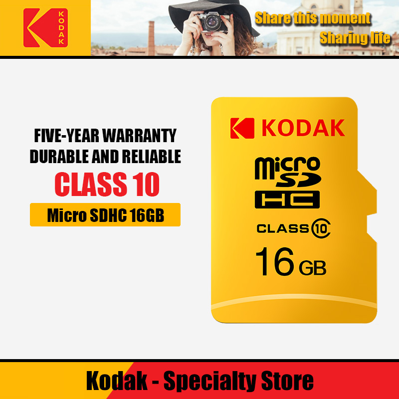 Kodak Memory Card 32 64 128 GB Micro SD 128GB 32GB 64GB 256GB 512GB Micro SD Card TF Flash Card MicroSD Carte For Phone