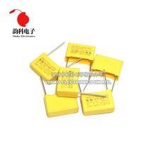 X2 Safety capacitor 275VAC 275V Pitch 7.5MM 10MM 15MM 22.5MM 27.5MM 0.01UF ~ 2.2UF Polypropylene film capacitor 10NF 100NF 1UF